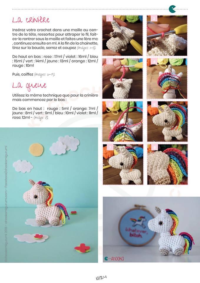 Fiche Amigurumi Mini Licorne Elylou Crochette Douceur2maille